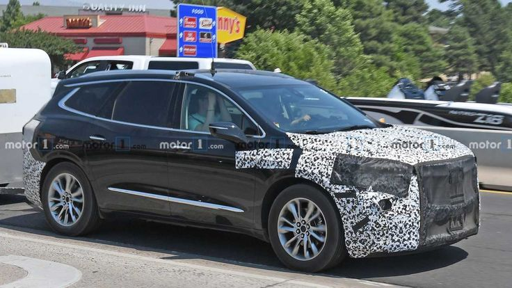 2021 Buick Enclave Spied For The First Time Buick Enclave Buick