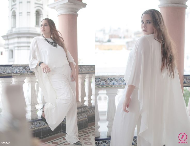 Lo ultimo en moda para tallas extras, Outfit Palazzo talla extras blanco. Plus size palazzo. #plussizefashion #modatallasextras #mirelfashion   https://www.facebook.com/media/set/?set=a.1514594695522855.1073741832.1477063539275971&type=3