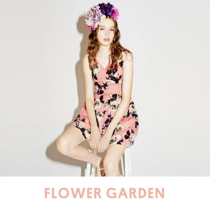 Celebrate the start of British Summer Time with flower power headdresses and graphic prints.