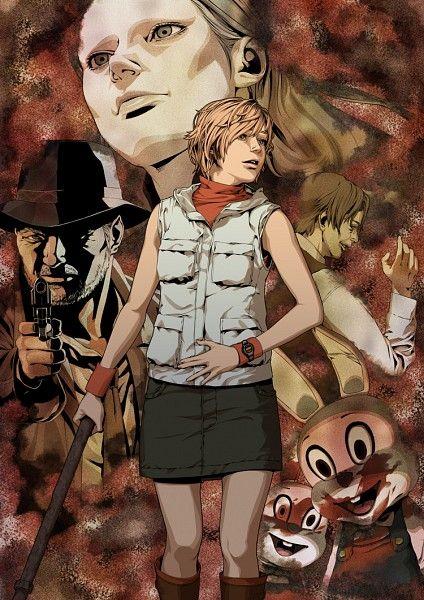 Tags: Anime, Pixiv, Silent Hill, Heather Mason, Konami