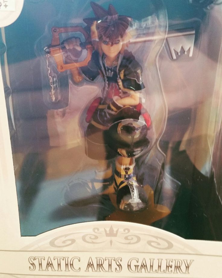 We got a new figure from Square Enix! Check out our Statics Arts Gallery Statue of Sora from Kingdom Hearts II at Mojoverse on 1252 the Kingsway!
