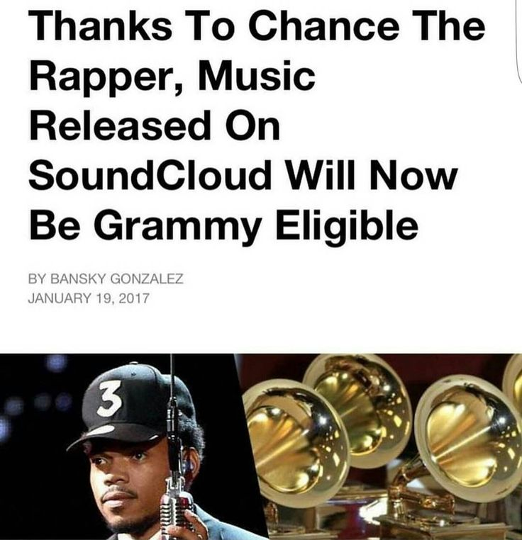 Ya'll DO realize what this means right...?! Well IM excited!!  MAJOR S/O to #ChanceTheRapper for continuing to be an industry trailblazer & rewriting the rules. Kudos to YOU sir  (via @mistervirtuoso)