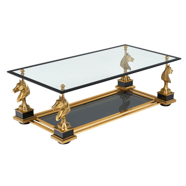 French Art Deco Coffee Table by Maison Charles | JMF #coffeetable #french #artdeco #vintage