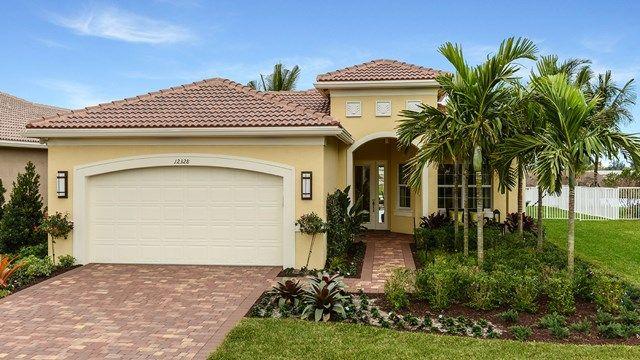 The REBECCA/52 - #valencia #glhomes #realestate - New Homes in Florida - 55+ Community
