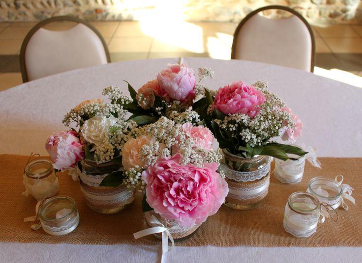17 meilleures id es propos de centre de table de mariage for Pinterest centre de table