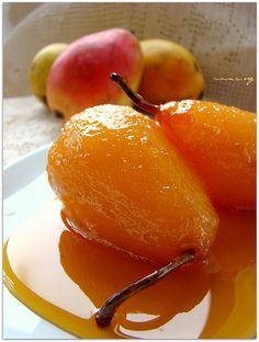 Karamelize armut tatlısı - rumma