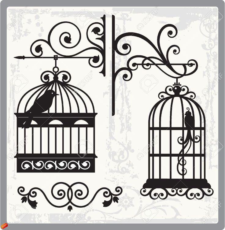Bird cage graphics | gabbie per uccelli