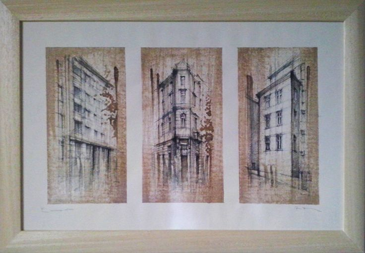BRATISLAVA - TRIO Slovakia,  Drawing on paper, coffee coloured, 50x40cm   © Pavel Filgas 2016   https://www.facebook.com/Pavel-Filgas-Art-500412180019911/ https://www.instagram.com/pavel_filgas_art/ https://twitter.com/PavelFilgas https://www.pavelfilgas.com, PAVEL FILGAS