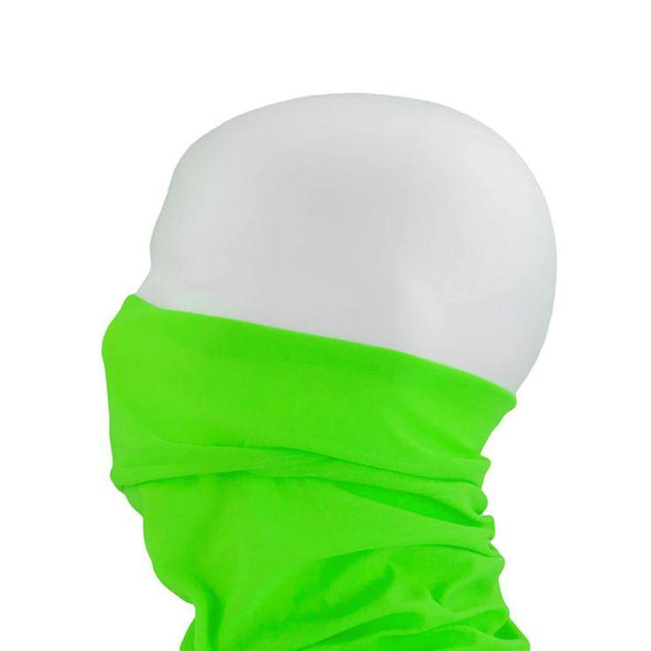 Multifunktionstuch / Schlauchtuch / Halstuch - Neon Grün in Bekleidung Accessoire  • Schals & Tücher • Multifunktionstücher