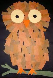 Maro's kindergarten: Cute forest animals crafts Φθινοπωρινές κατασκευές με ζώα του δάσους