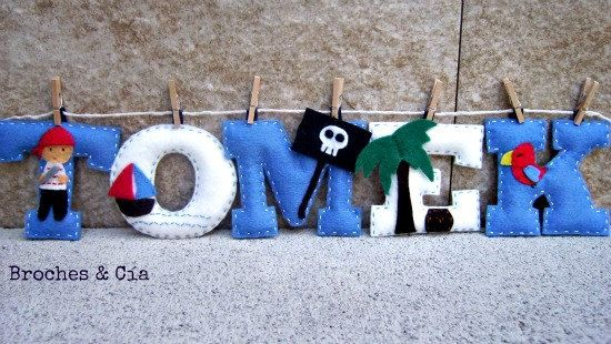 Hey, I found this really awesome Etsy listing at http://www.etsy.com/listing/109787350/pirate-felt-name-banner-name-kids-room