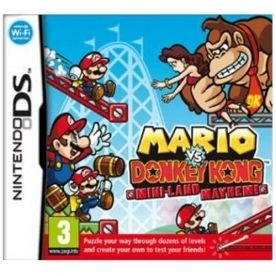 Mario vs Donkey Kong Mini-Land Mayhem Game DS