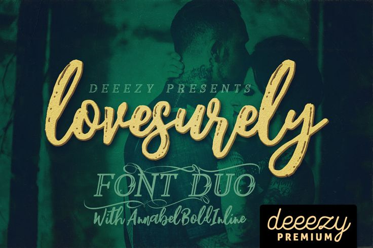 Lovesurely Font Duo | Deeezy - Freebies with Extended License