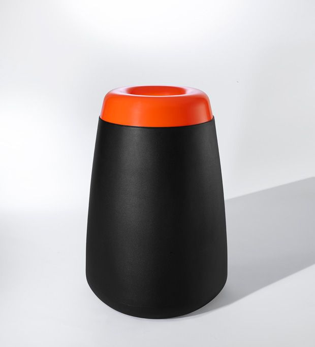 Tot is a family of all weather recycling and litter receptacles. Available in two sizes, both allowing for the option of custom branding and graphics. The range is UV stable and durable in commercial environments and is 100% recyclable.