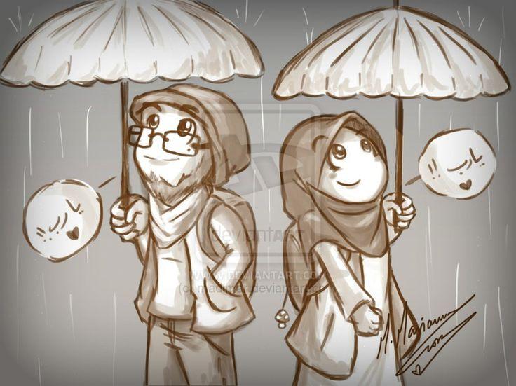 In the rain :-)