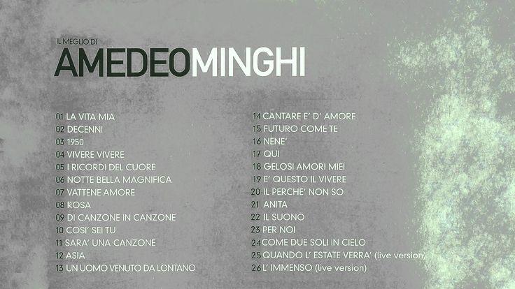 Amedeo Minghi - Il Meglio Di [ALBUM COMPLETO]