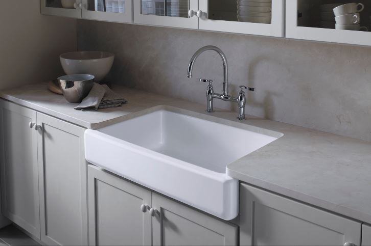 Whitehaven Cast Iron Kitchen Sinks In White The Home