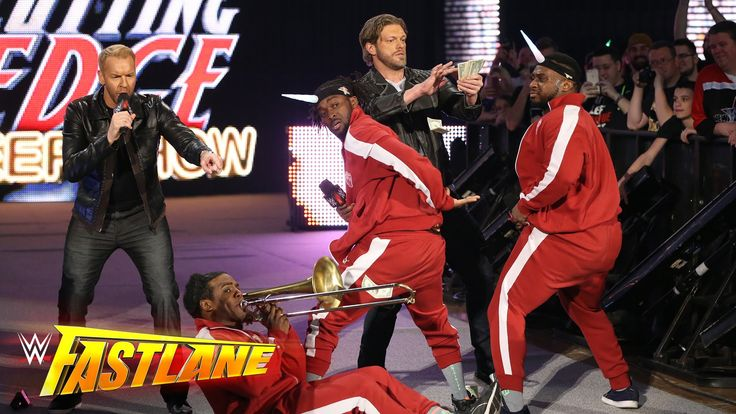 Edge & Christian join forces with The New Day: WWE Fastlane 2016 - YouTube