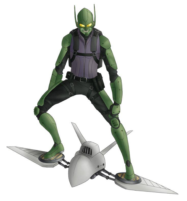 Green Goblin by Green-Mamba on DeviantArt