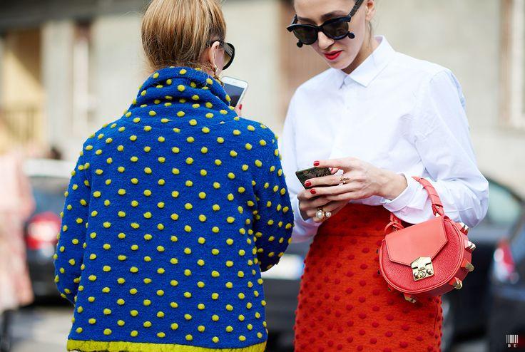 Milan Fashion Week FW15 Alina Tanasa & Diana Enciu Photo by YuYang