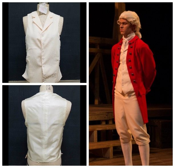 "Gustavus Adolphus College November 2017 ""Our Country's Good"" by Timberlake Wertenbaker Period Soldier's Vest"