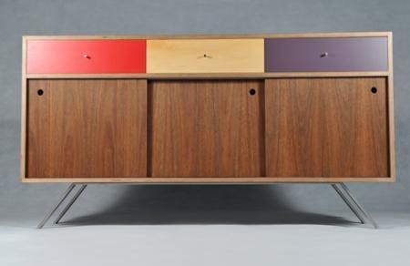 Factor Design | splayed sideboard