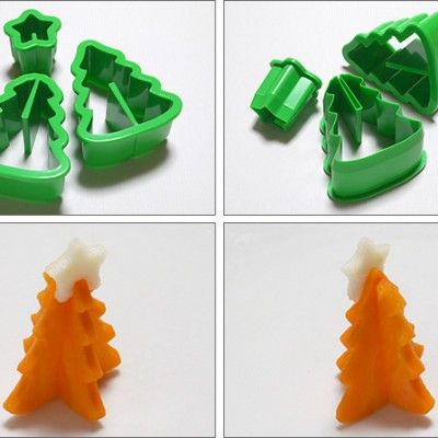 Vegetable Cutter – Christmas Tree http://littlebentoworld.com/shop/food-cutters/vegetable-cutter-christmas/