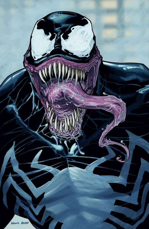Venom spiderman art - photo#25