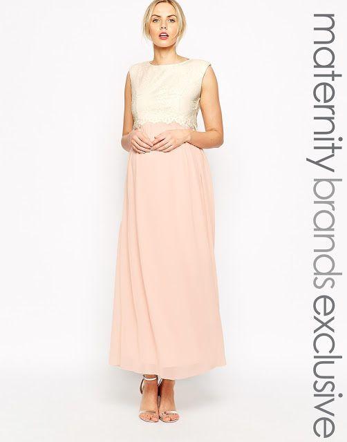 Colección de vestidos 2016 - Vestidos de moda para embarazadas