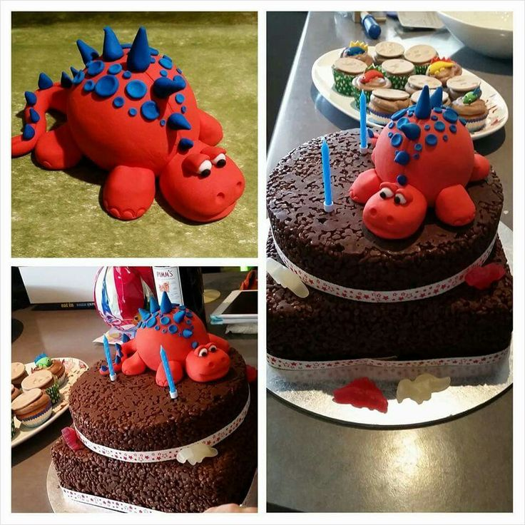 Dinosaur Cake Decorations Uk : Top 25+ best Dinosaur cake toppers ideas on Pinterest ...