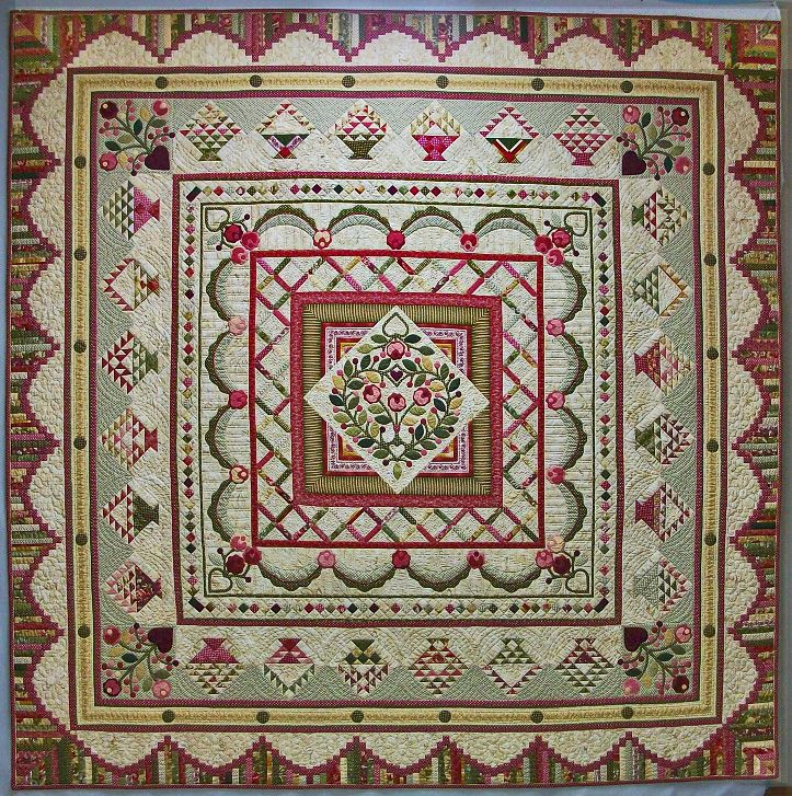 Amazing Quilts: 17 Best Images About Medallion Quilts On Pinterest
