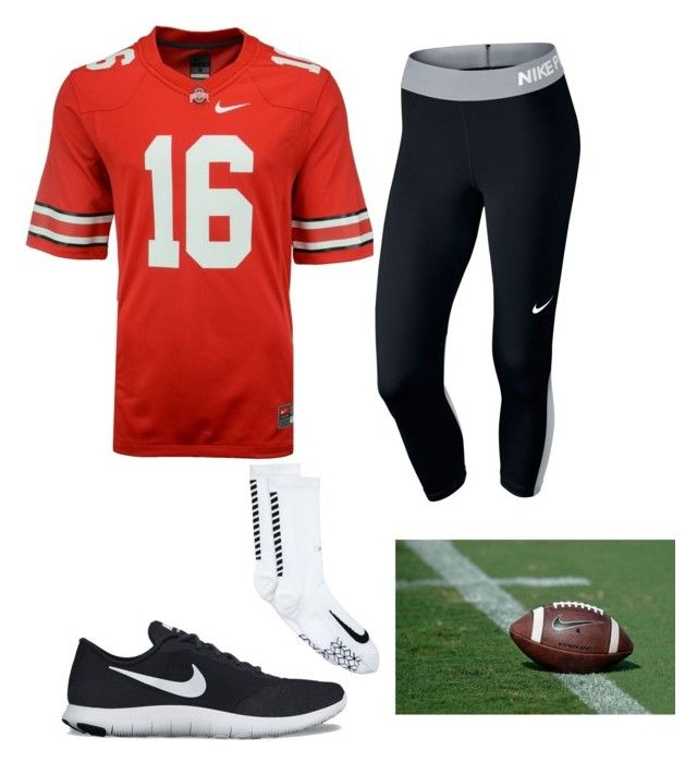 """OSU game"" by eliseaa633 on Polyvore featuring NIKE"