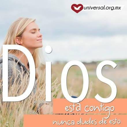 Quizás hoy necesitas que alguien te recuerde que #Dios está contigo. No tengas miedo ni desistas de tu fe, persevera que Dios puede ayudarte a salir adelante. ¿Crees en esto?    Síguenos por nuestras redes sociales:   http://www.universal.org.mx  https://www.facebook.com/IglesiaUniversalMexico/ http://www.twitter.com/UnivMx http://www.instagram.com/UniversalMexico
