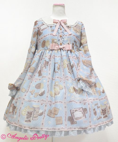 Angelic Pretty Cream Cookie OP I wanted this ever since I saw Lovely Lor in it, I like the print and style, plus it looks roomy!