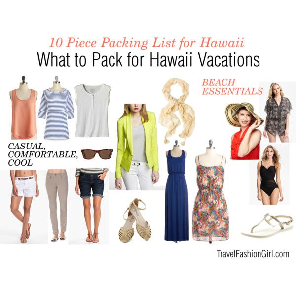 how to pack a backpack hawaii