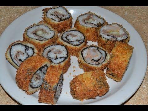 Cómo hacer sushi casero fácil - Receta para preparar el arroz incluida - YouTube