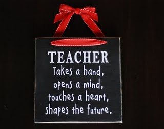 Cute teacher gift to make