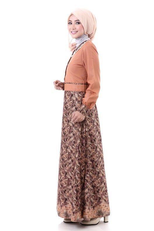 Model Baju Muslim Batik 2016