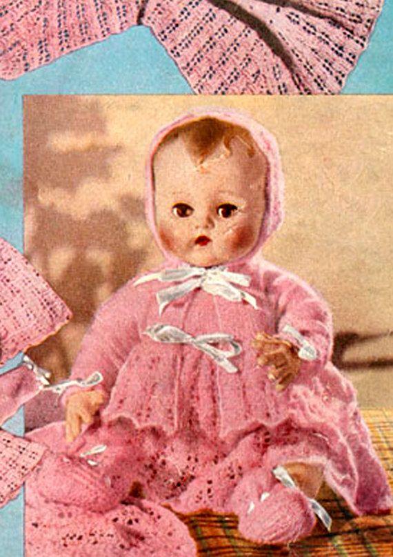 PDF Vintage 1950s Bestway B2499 Doll Clothes by TheAtticofKitsch