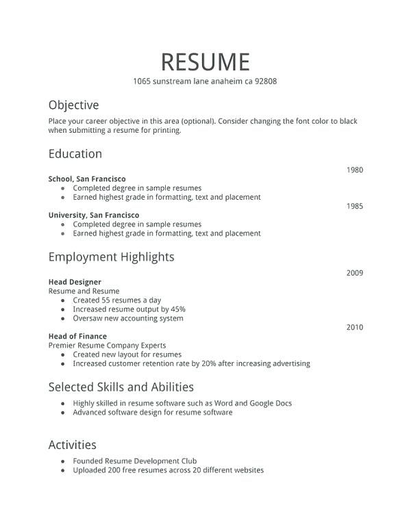 Resume Format For Bank Job For Fresher Bank For Format Fresher