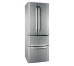 Hotpoint FFU4DX American-Style Fridge Freezer - Stainless Steel
