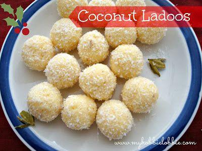 Coconut Ladoos aka Coconut Snowballs ... another popular and dead easy Kuswar recipe