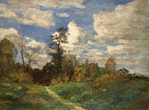 """""""Forest Landscape,""""Eugène Boudin, 1860;"""