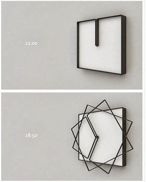 Originale cette horloge
