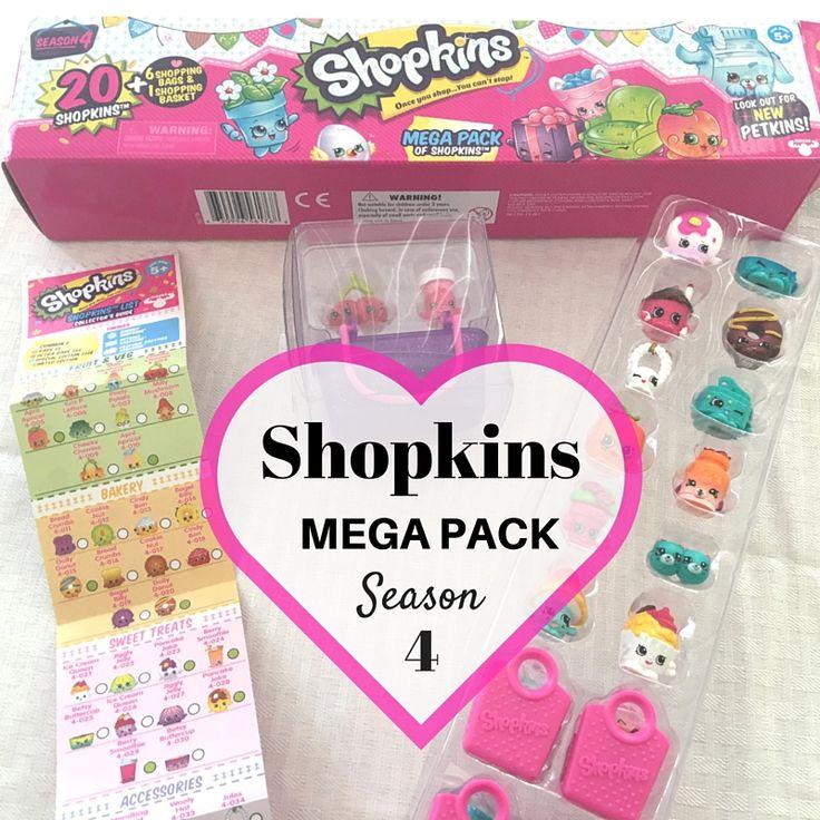Season 4 Shopkins Mega Pack Pictures of Shopkins