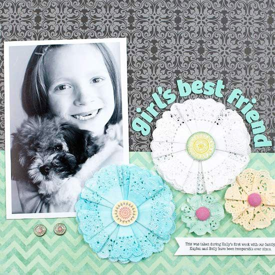 88 best scrapbooking flowers images on pinterest scrapbooking do it yourself flower accents solutioingenieria Choice Image