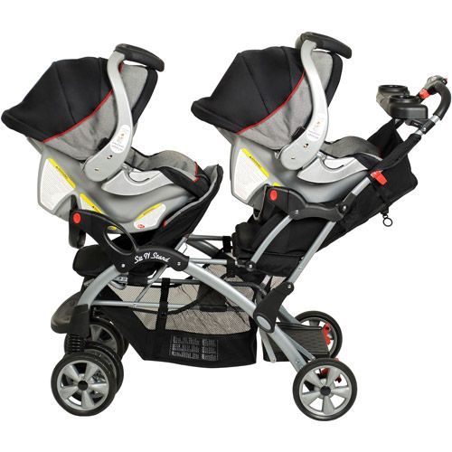 Baby Trend - Sit N Stand Plus Double Stroller, Millennium. The snap n go is just too long for the trunk