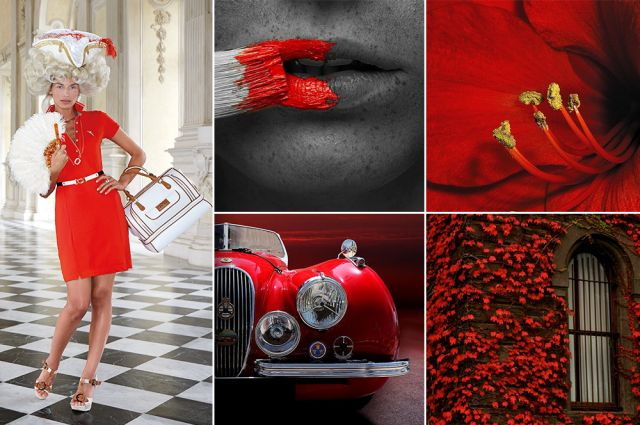 Mood of the day: Red Charmer. Red golf outfit by Chervò!