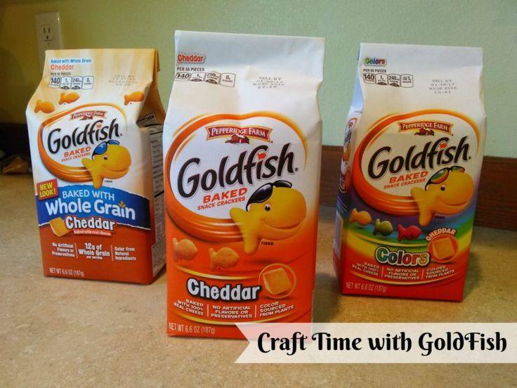 DIY Craft time with Pepperidge Farm Goldfish #ad