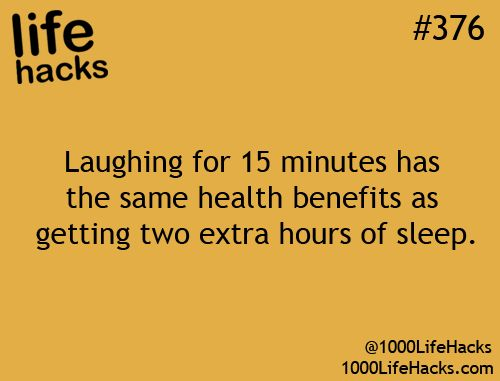 No wonder people that always smile and laugh at everything are always in a great mood!